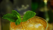 Yuzu Mint Cocktail