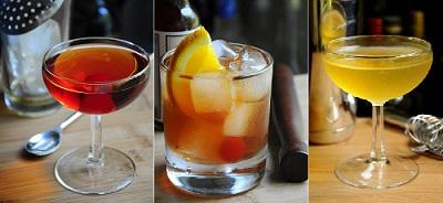 Prohibition Cocktails