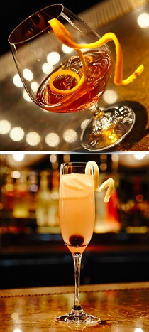 """Cocktails from """"Light"""" in LV"""