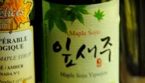 Maple Vanilla Soju Cocktail