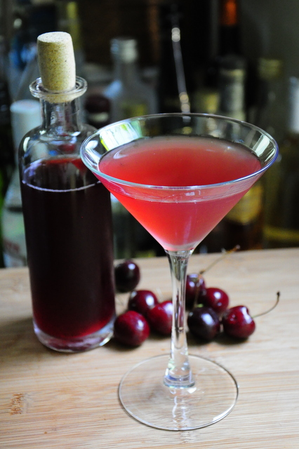 Cherry Cosmopolitan – Barman's Journal