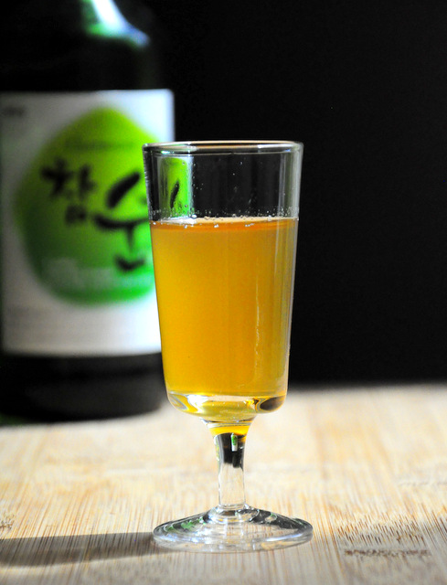 Homemade Soju Honey Liqueur