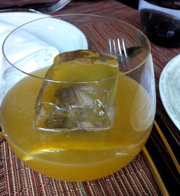Big Ice Drink at Spago