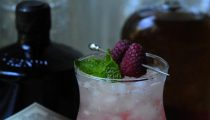 Gin and Raspberry Shrub Julep