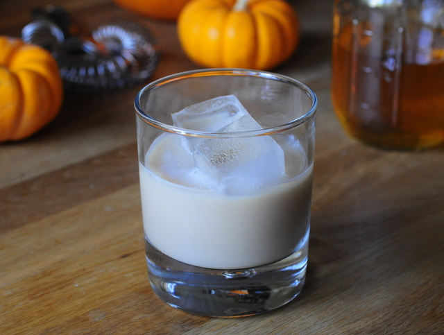 Pumpkin Pie Spiced White Russian