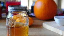 Pumpkin Pie Spice Infused Vodka