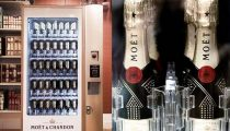 Champagne Vending Machines Dispenses Last Minute Holiday Gifts