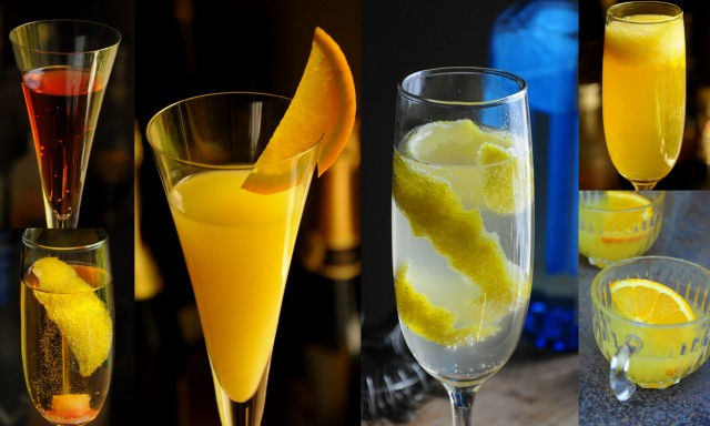 Classic Champagne Cocktails For New Year's Eve