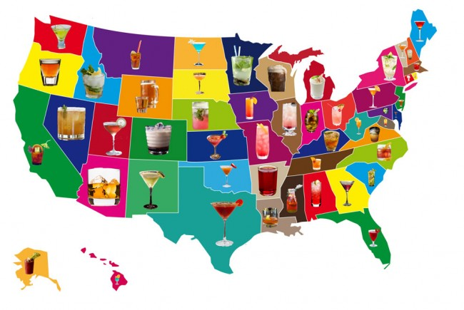 Signature Cocktails, State by State