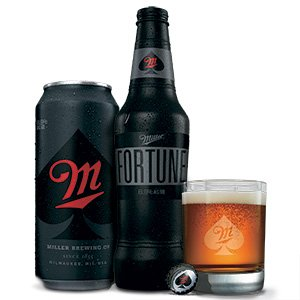 Miller Fortune, a bourbon-flavored beer
