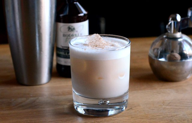 Brandy Milk Punch | Barman's Journal