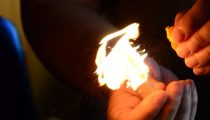 How To Flame An Orange Peel