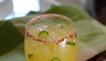 Serrano Pineapple Margarita