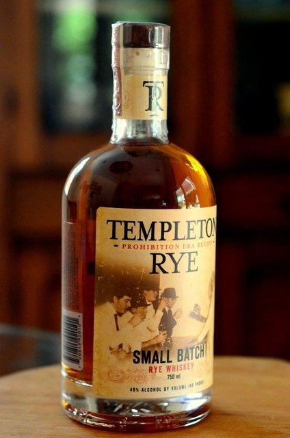 Tasting Tuesday: Templeton Rye