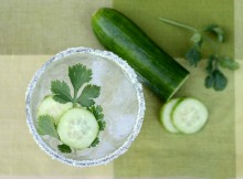 Cucumber and Cilantro Margarita