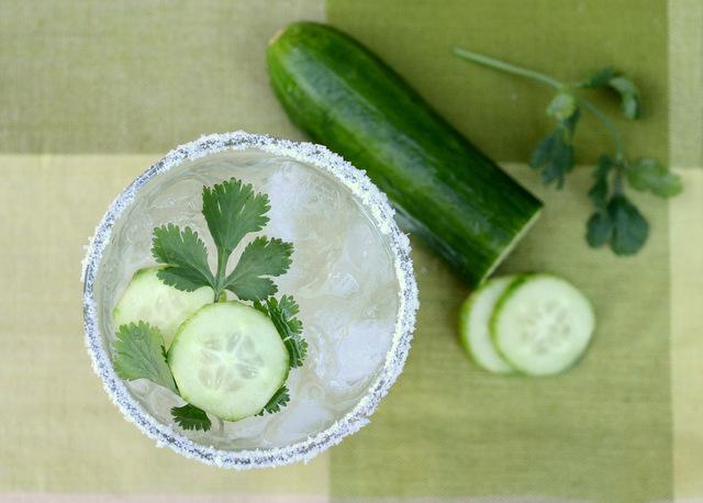 Cucumber and Cilantro Margarita