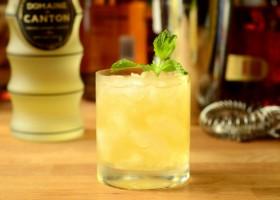 Ginger Bourbon Smash