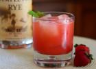 Strawberry Fields Rye Cocktail