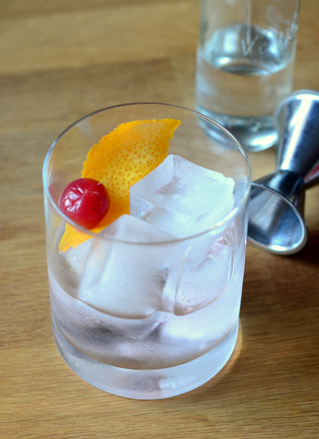 Vodka Old Fashioned
