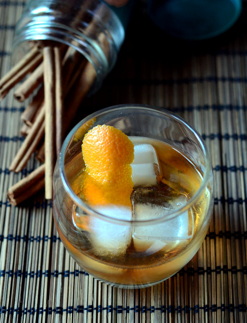 Cinnamon Spiced Old Fashioned