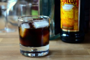 The Brave Bull Cocktail (also known as the Black Mexican, on Archer)