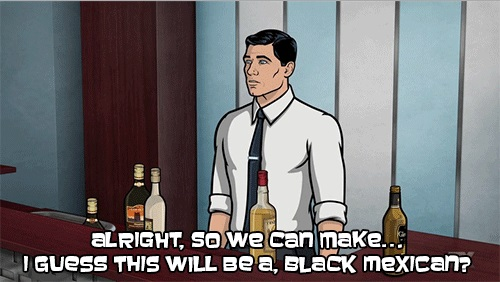 Archer's Cocktail: The Black Mexican