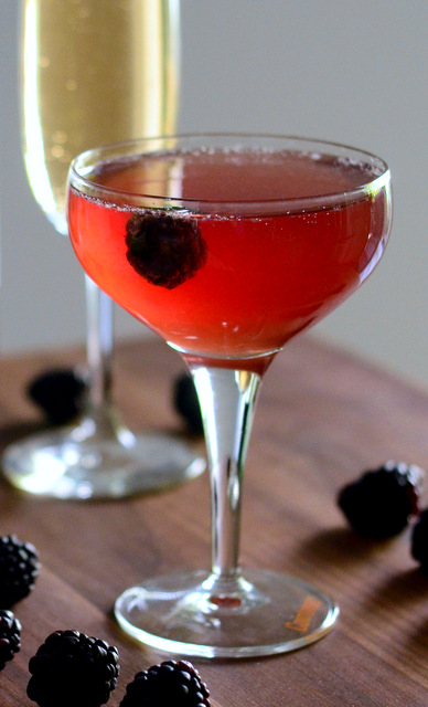Blackberry French 75