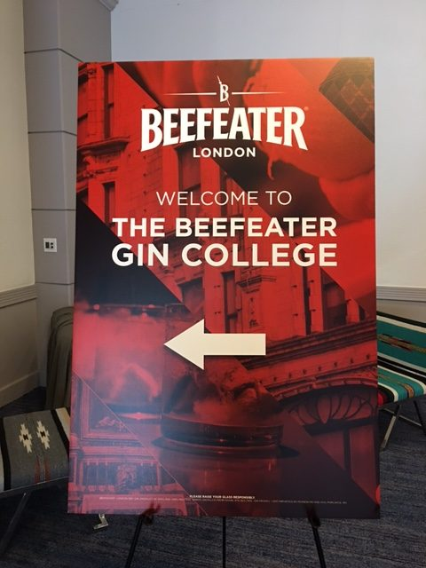 Beefeater Gin College 2016